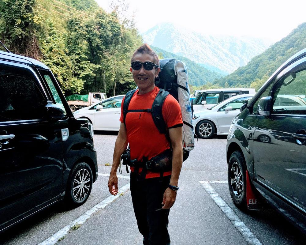 2018年7月槍ヶ岳登頂